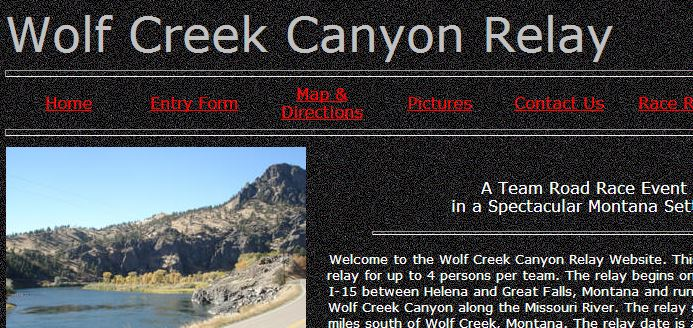 Wolf Creek Canyon Relay